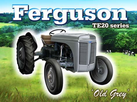 Little Grey Fergie Badge [BHPEWTBADGE] - $13 75 : Ulster
