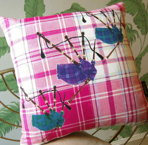 Bagpipe Cushion