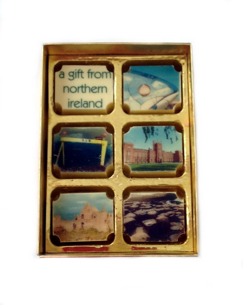 Printed N.I. Landmark Souvenir Chocolates - Box of 6