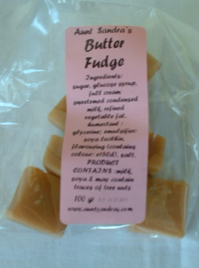 Butter Fudge - 100g Bag