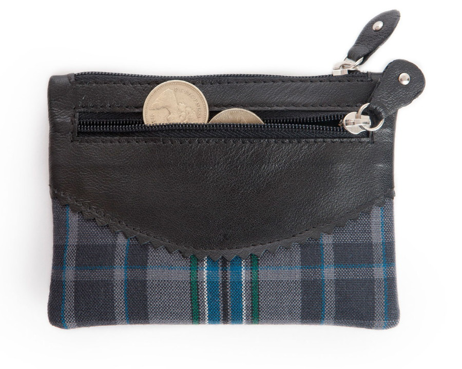 Giants Causeway Tartan 3 Zip Purse