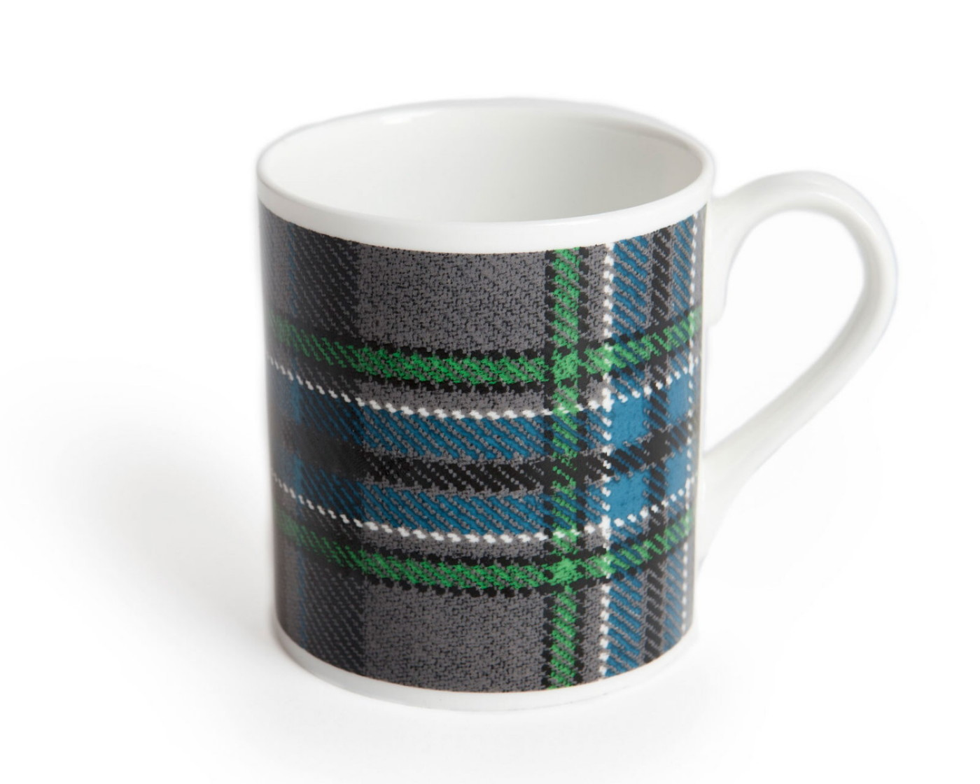 Giants Causeway Tartan China Mug