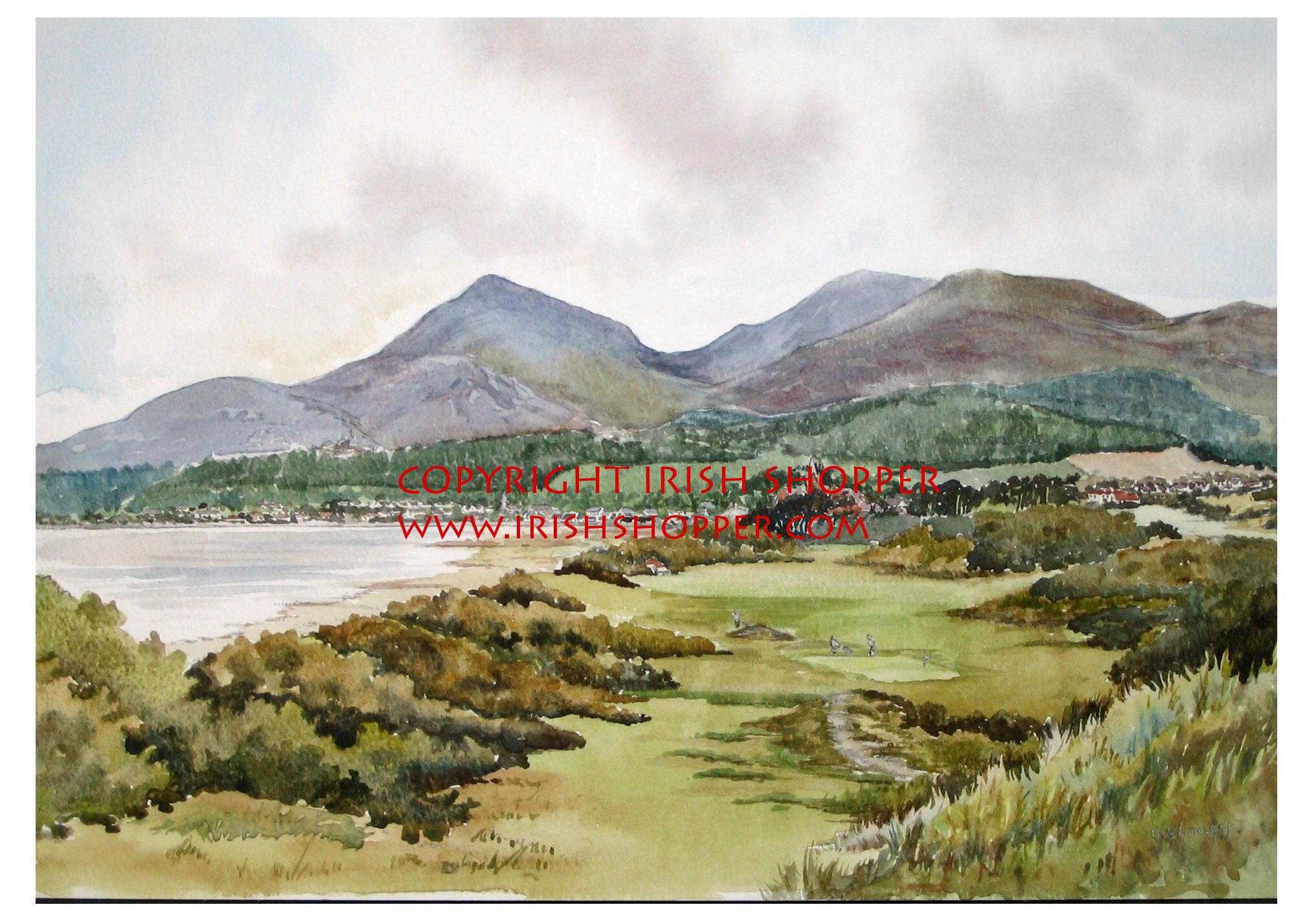 Royal County Down Golf Course - Small
