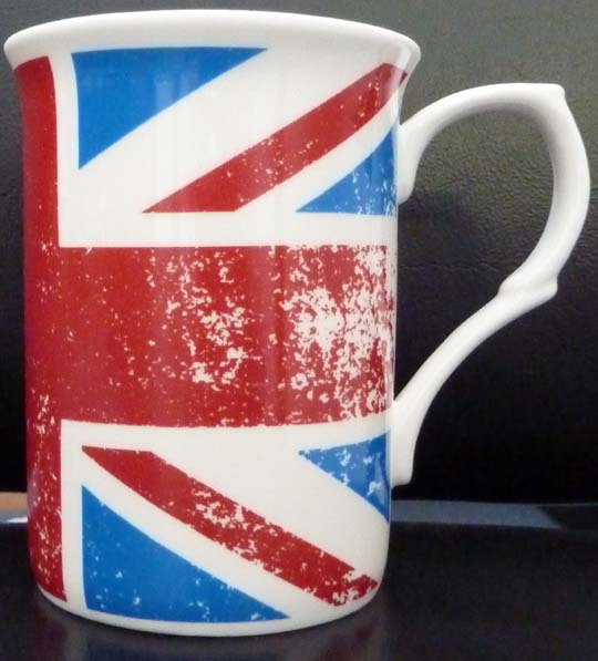 Union Jack - Fine Bone China Mug