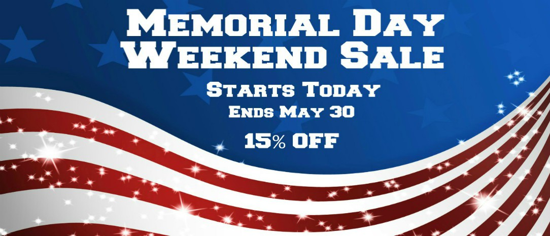 Memorial Weekend Sale