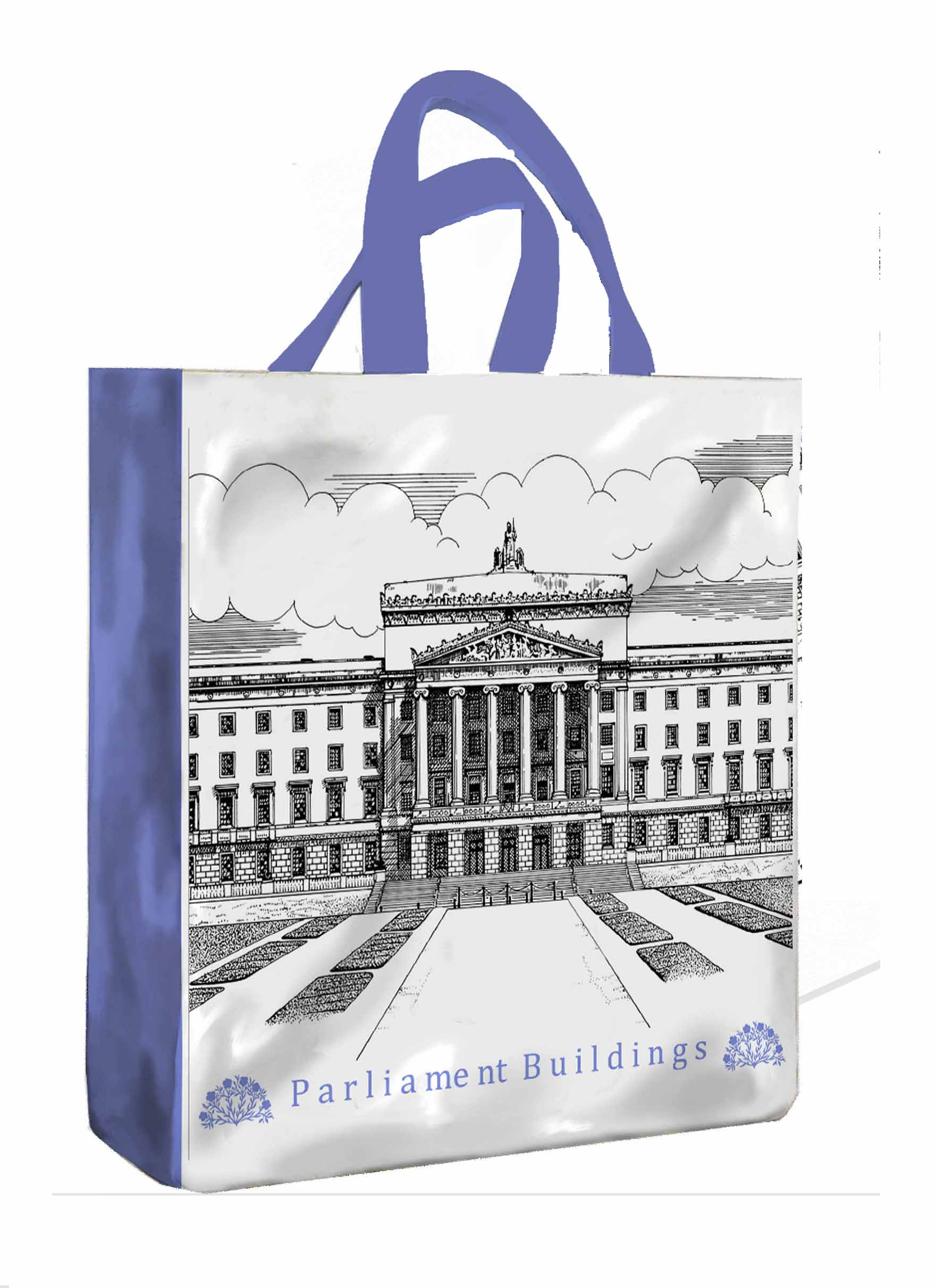 Parliament Buildings PVC Shopping Bag