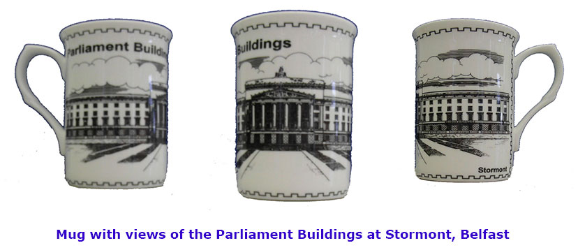 Parliament Buildings Fine Bone China Mug