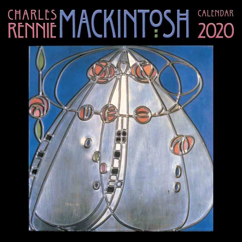Charles Rennie Mackintosh Calendar 2020