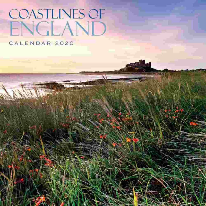 Coastlines of England Calendar 2020