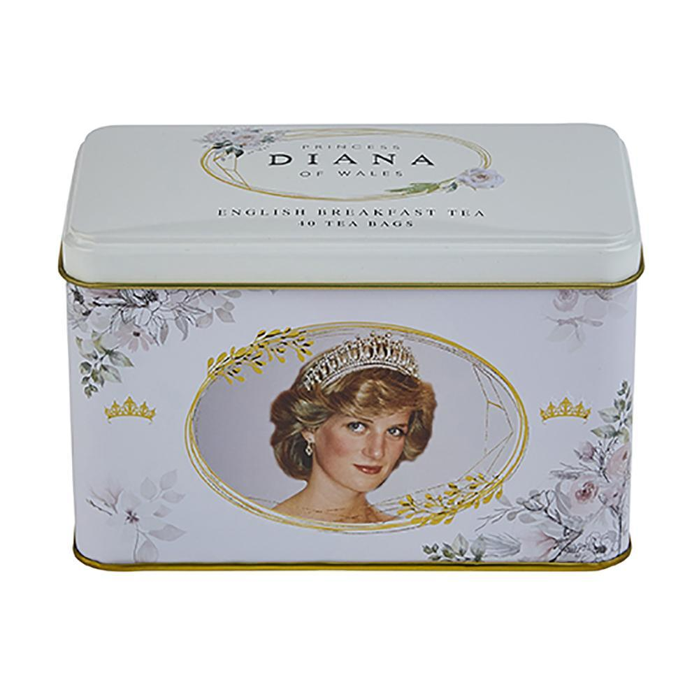 Diana Princess of Wales English Breakfast Tea Tin 40 Teabags