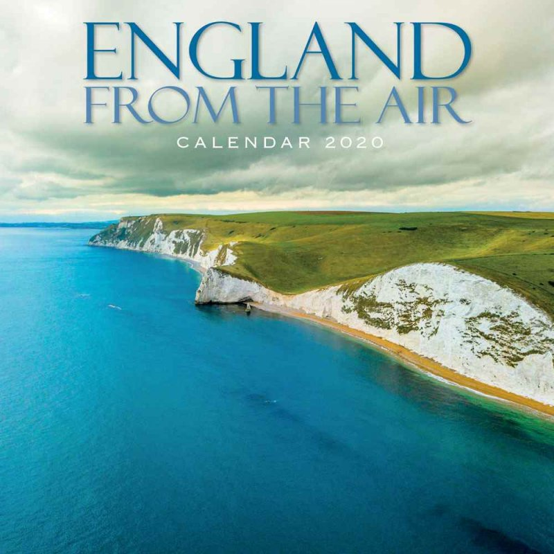 England From The Air Calendar 2020