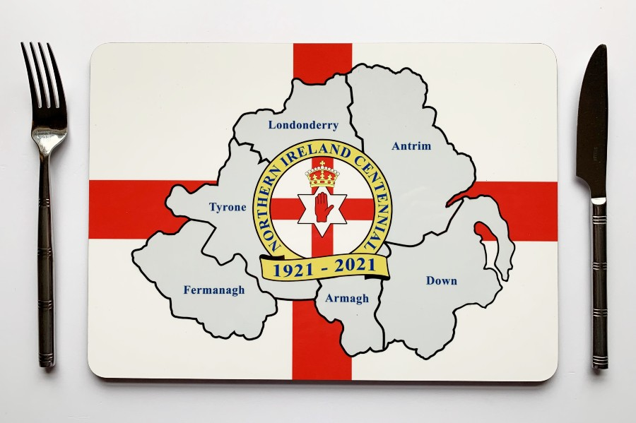 Northern Ireland Centennial Large Placemat
