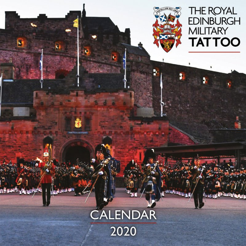 Royal Edinburgh Military Tattoo Calendar 2020