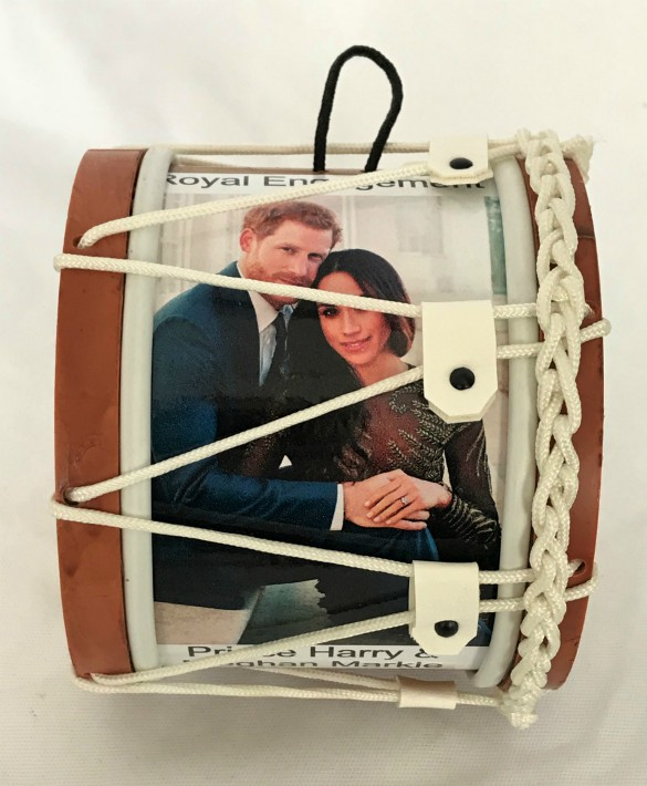 Royal Engagement Prince Harry and Meghan Markle Souvenir Drum