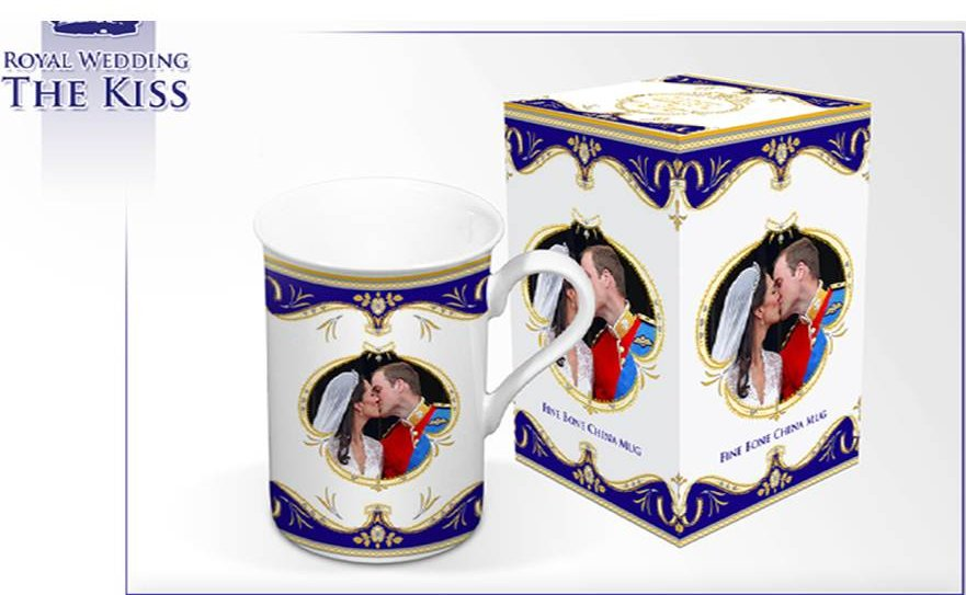 "Royal Wedding ""Kiss"" Collection"