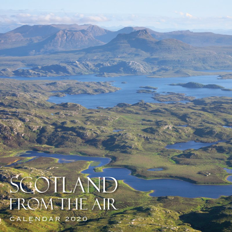 Scotland From The Air Calendar 2020