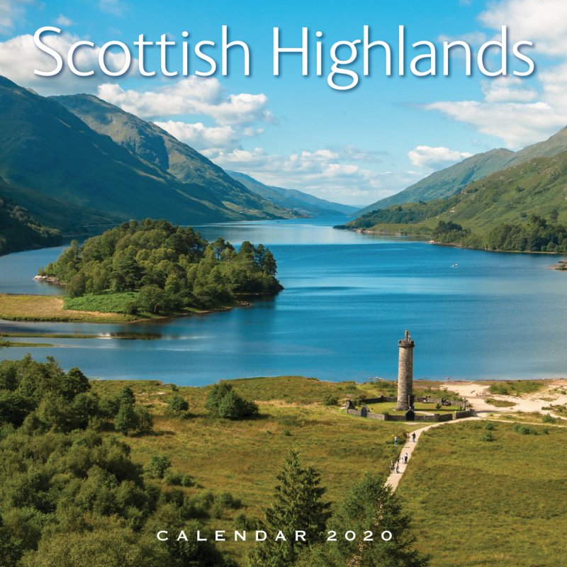 Scottish Highlands Calendar 2020