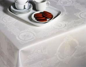 "Celtic Design Tablecloth (72"" x 126"")in a Luxury Gift Box"